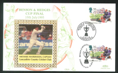 1995 Cricket Cover Benson & Hedges Cup Series Michael Watkinson