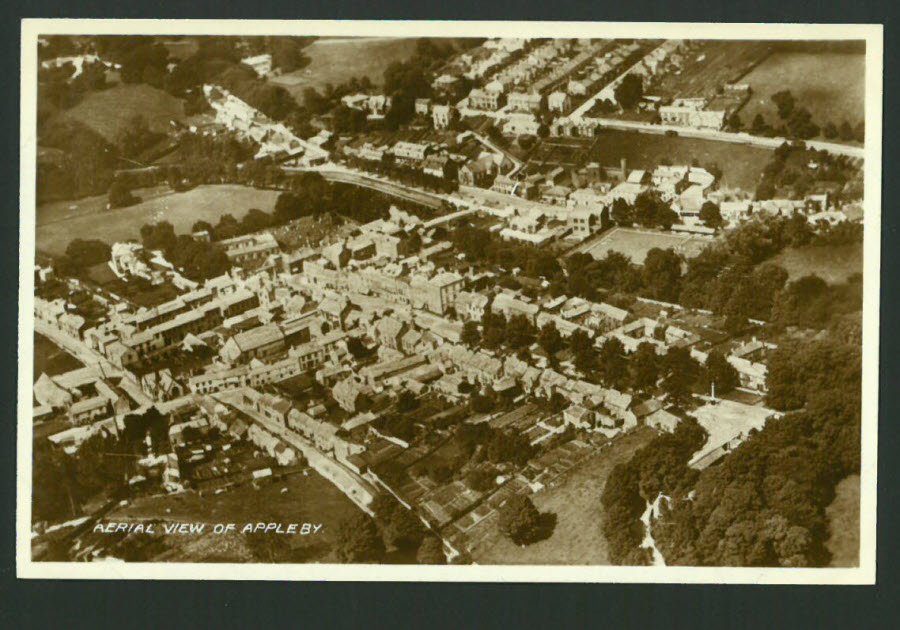 Postcard Lincolnshire - Aerial View of Appleby Real Photo